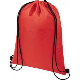 Reklaminiai medžiaginiai sportiniai maišeliai su kišene
