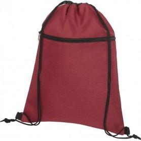 Reklaminiai neaustiniai sportiniai maišeliai su kišene 80g/m2