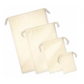 Reklaminiai medvilniniai sutraukiami maišeliai 200g/m2