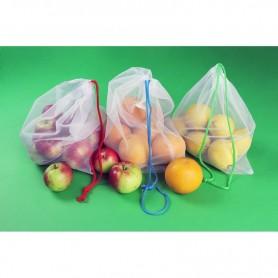 Reklaminiai perdirbto plastiko maišelių rinkiniai su spauda