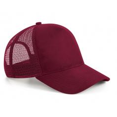 """BEECHFIELD reklaminės kepurės su tinkleliu ir spauda """"Suede"""""""