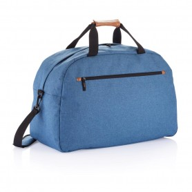 Fashion duo tone travel bag
