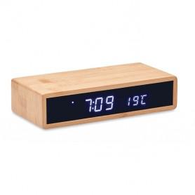 """Reklaminiai ekologiški staliniai laikrodžiai su logotipu """"MORO"""""""