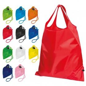 """Reklaminiai spalvoti sulankstomi maišeliai su spauda """"CARRY"""""""