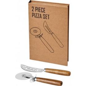 """Reklaminiai picos pjaustymo rinkiniai su logotipu """"PIZZA"""""""