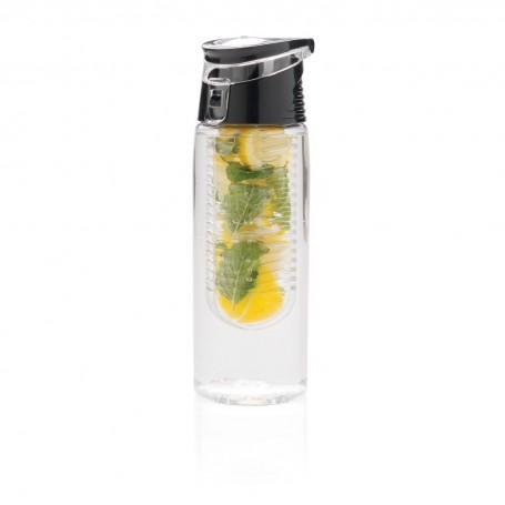 Lockable infuser bottle