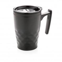 Geometric coffee tumbler