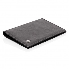 RFID anti-skimming passport holder