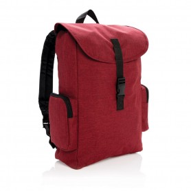 15 Laptop backpack with buckle