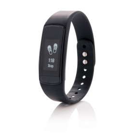 Activity tracker with touch screen