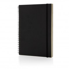 A5 Deluxe spiral ring notebook