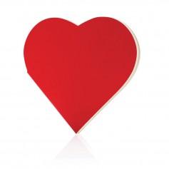 Heart shaped notebook