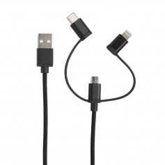 3-in-1 cable MFi licensed