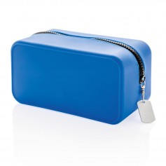 Leak proof silicon toiletry bag