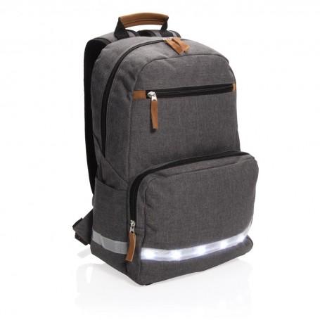 LED light 13 laptop backpack