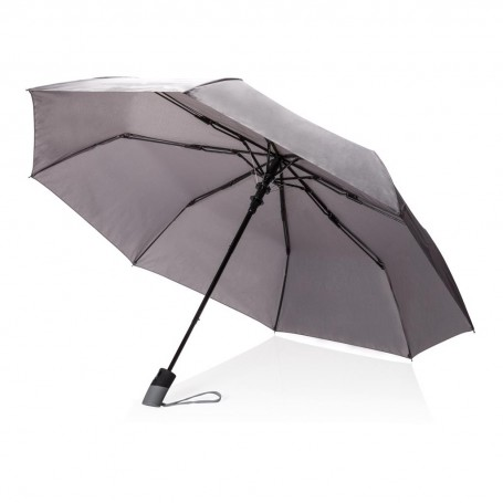 "Deluxe 21"" foldable auto open umbrella"