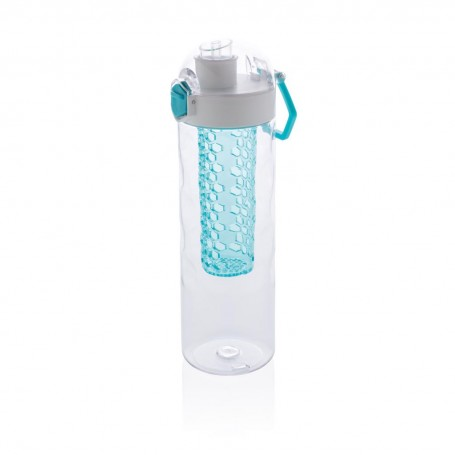Honeycomb lockable leak proof infuser bottle
